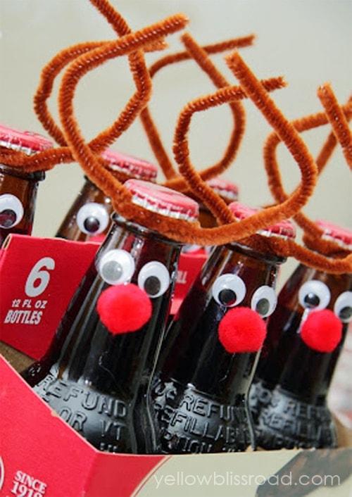 Root Beer Reindeer Gift Idea
