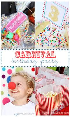 Social media image for Carnival Birthday Party