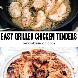 Social media image for Easy Grilled Chicken Tenders