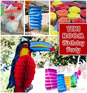 Social media image for Tiki Room Birthday Party