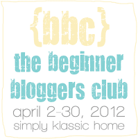 A close up of a sign - BBC The Beginner Bloggers Club