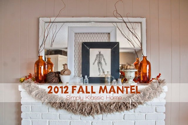 My 2012 Fall Mantel