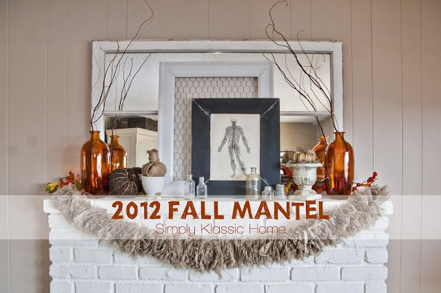 Decorating for Fall with Natural Elements, Part Two: Branches and Leaves