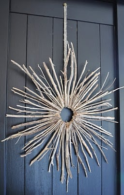 Twigs in a wreath