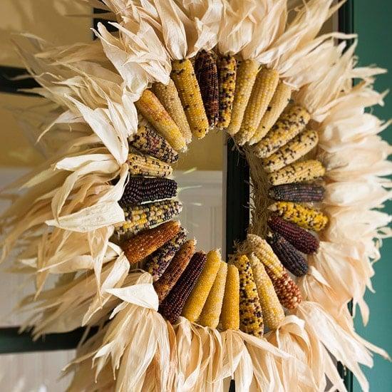 Dried Corn Wreath