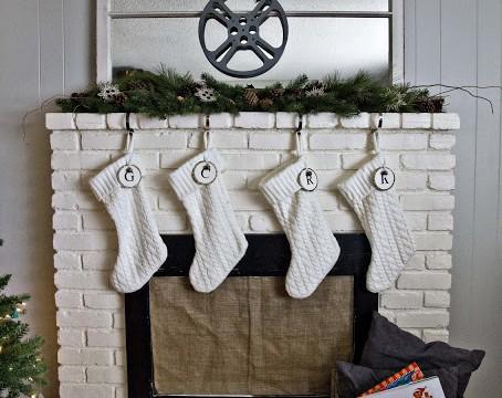 Christmas Mantel & Tree {Holiday 2012}