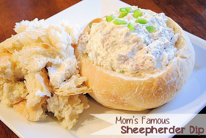 A close up of Shepherder\'s Bread Dip
