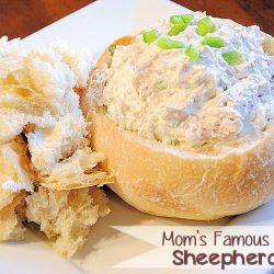 A plate of Shepherder's Bread Dip