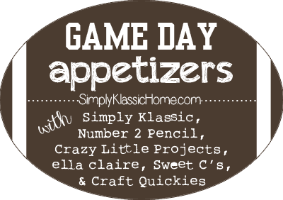 Social media image of Game Day Appetizers
