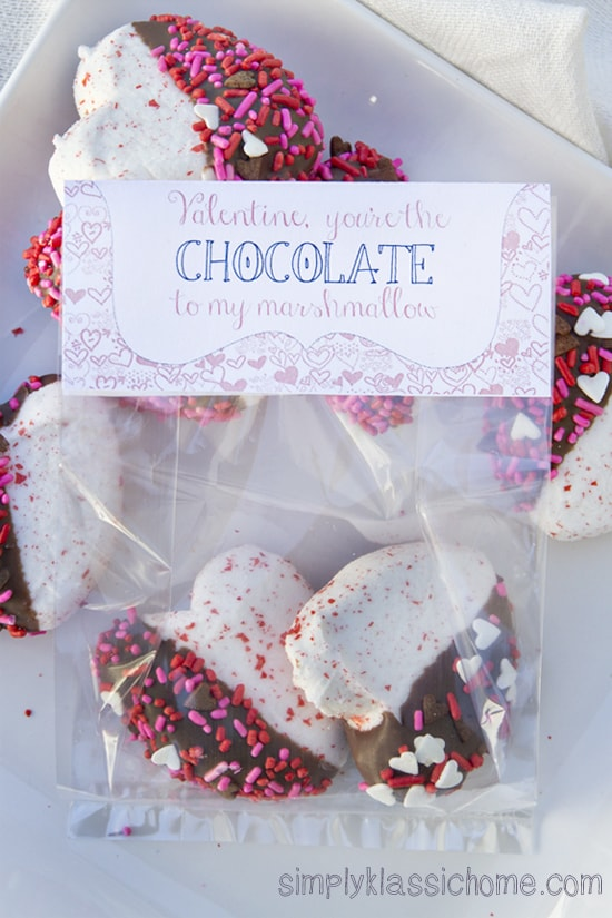 Valentine\'s Day treat bag