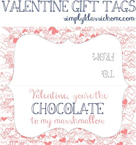 Social media image of Valentine Gift Tags