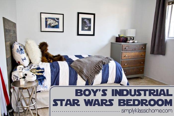 Social media image of Boy\'s Star Wars Bedroom