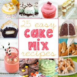 25 Awesomely Easy Cake Mix Recipes