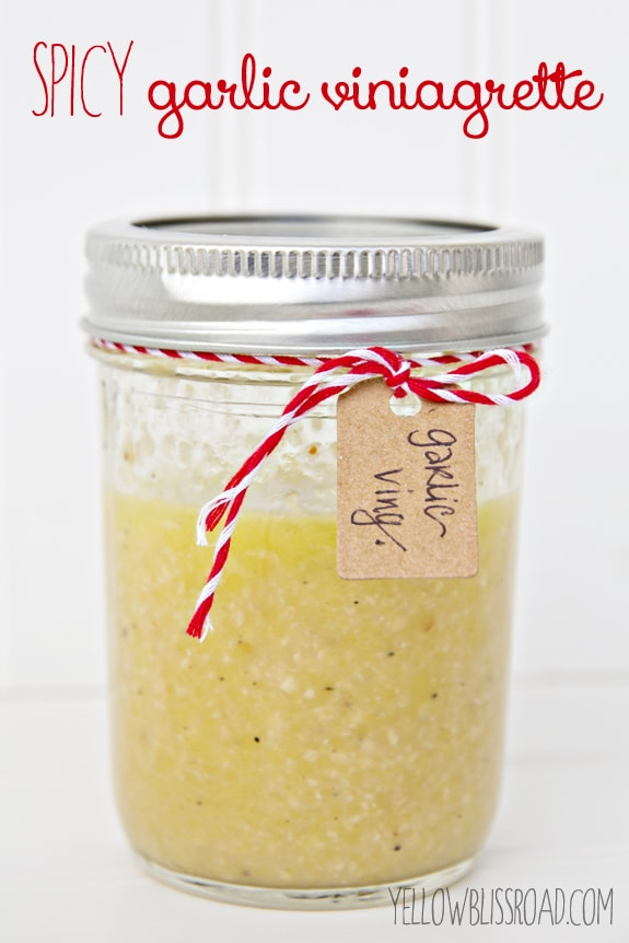 Jar of Vinaigrette