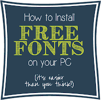 Social media image of How To Install Free Fonts on your PC