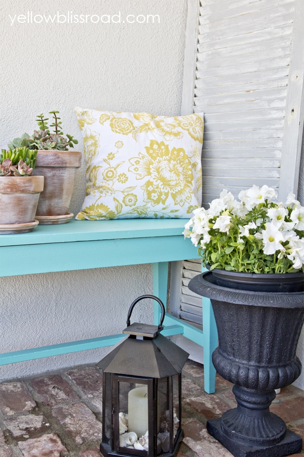 Bright & Cheery Summer Porch
