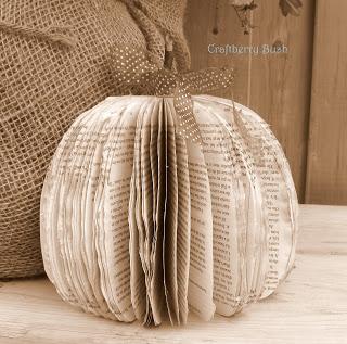 Pumpkin craft made out of paper
