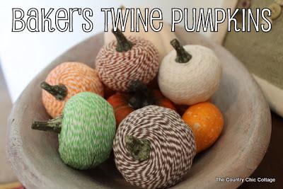 Social media image of Baker\'s Twine Pumpkins
