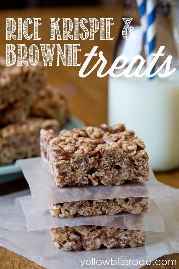 Rice Krispies & Brownie Treats