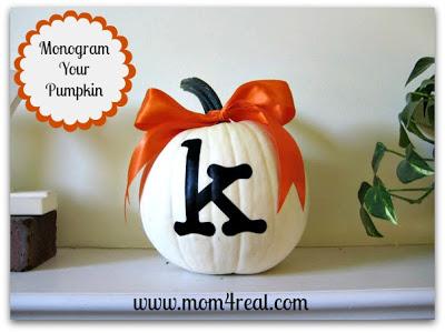 Social media image of Monogram Your Pumpkin