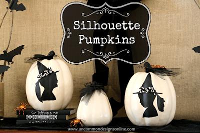 Social media image of Silhouette Pumpkins