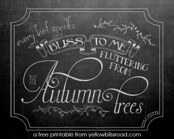 Social media image of free chalkboard printable