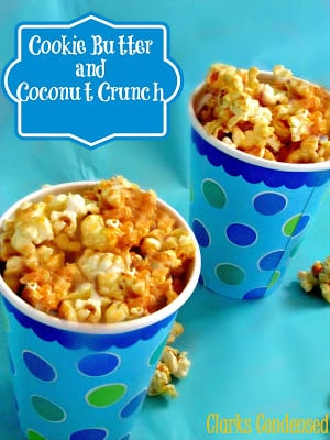 Social media image of Cookie Butter and Coconut Crunch