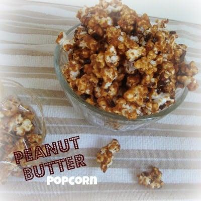 Social media image of Peanut Butter Popcorn