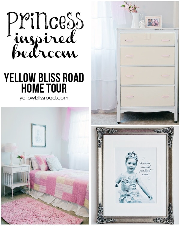 princess inspired bedroom home tour