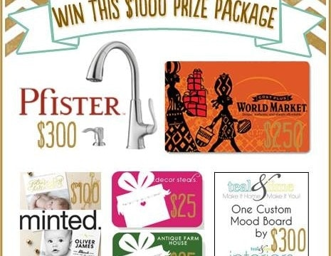 $1000 GIVEAWAY and an Autumn Abounds Round Up
