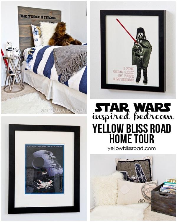 star wars bedroom home tour