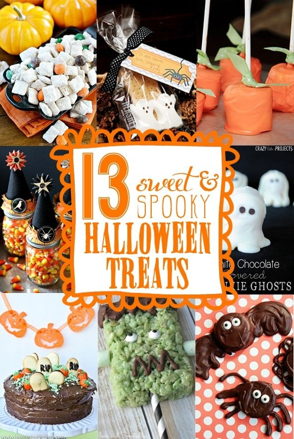 13 sweet & spooky halloween treats