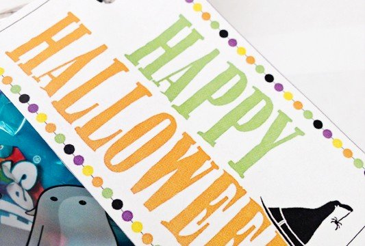 Halloween Treat Tags - Free Printable