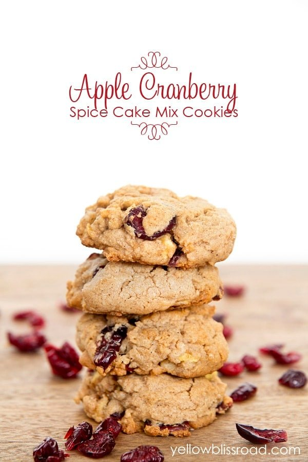 apple cranberry spice cookies title