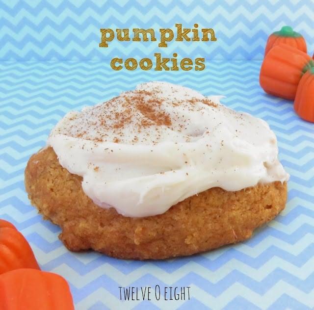 Social media image of Pumpkin Cookies