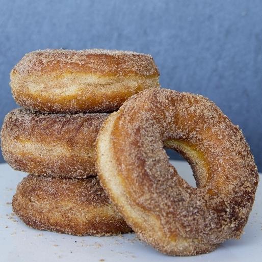 "Semi-Homemade Pumpkin Spice ""Donuts"""