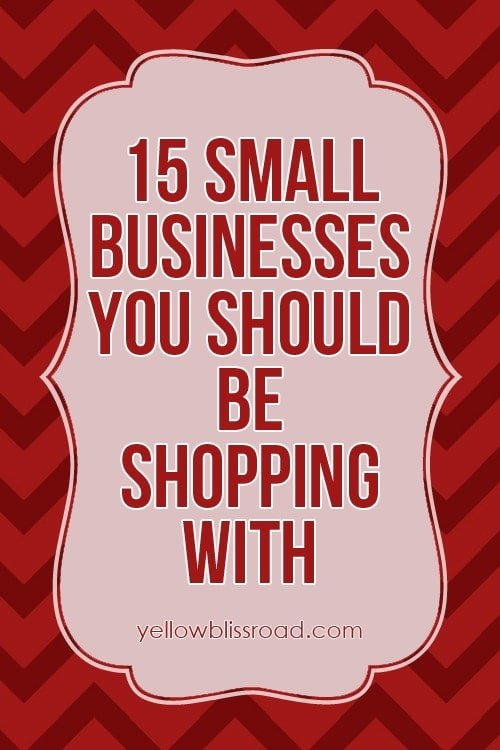 15 small businesses you should be shopping with