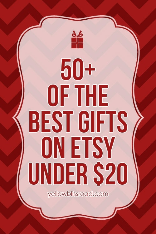 50 Of The Best Gifts On Etsy For Under 20 Her Him