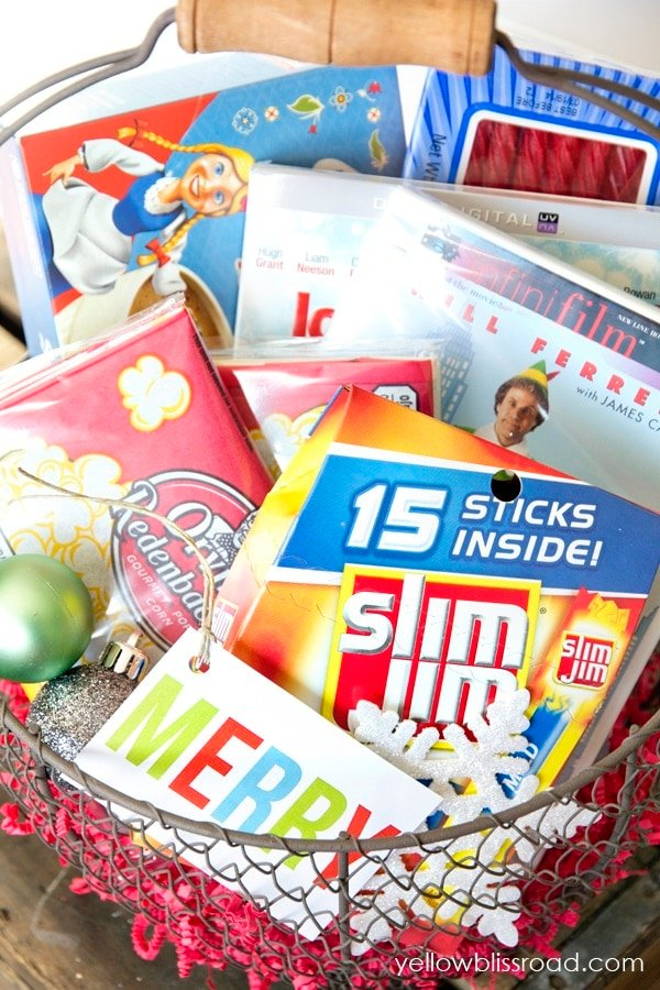 His and Hers Gift Basket Idea #cbias #easygifts #shop