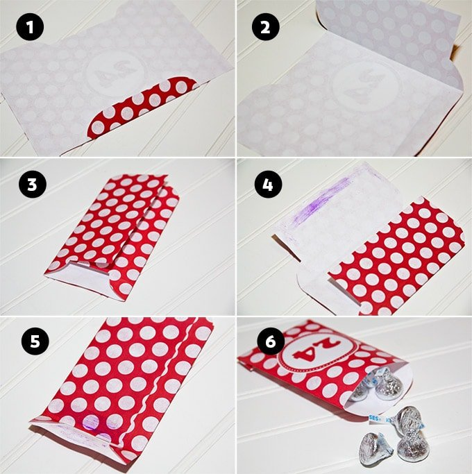 How To Put Together Advent Calendar Treat Bags