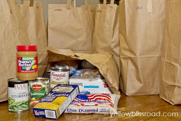 food pantry bags
