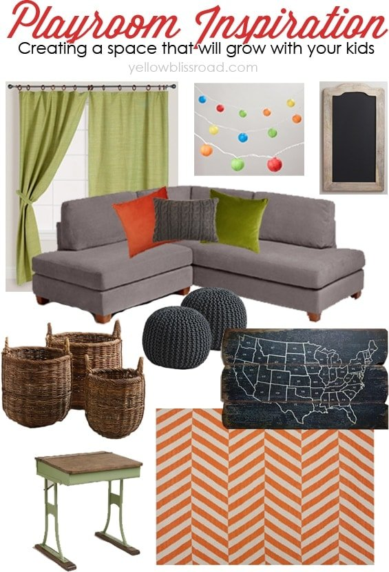 Playroom Inspiration: Creating a Space that Will Grow with Your Kids