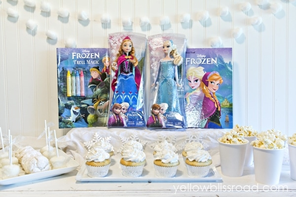 FROZEN Inspired Snow Party 2