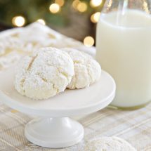 Easy Snowball Cookies Recipe
