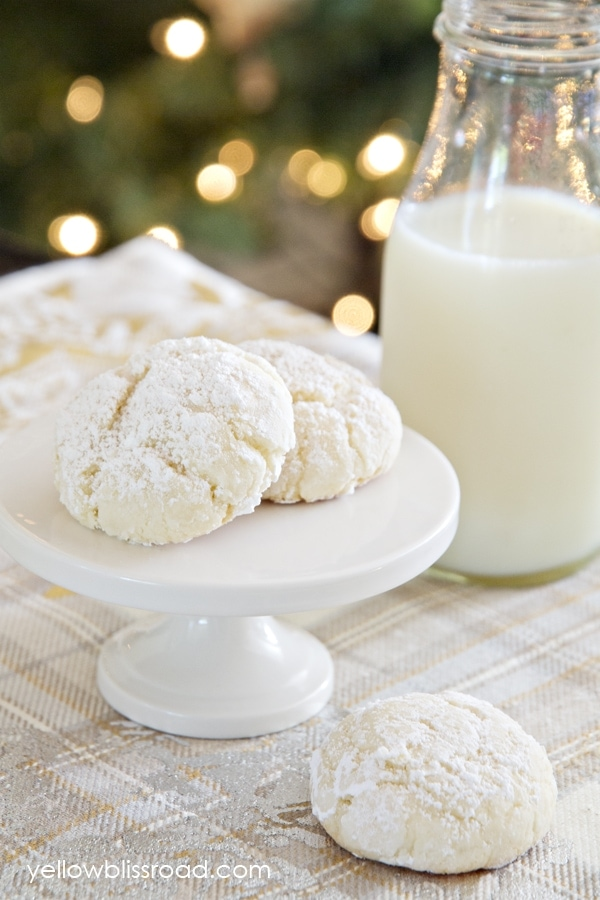 Easy Snowball Cookies Recipe
