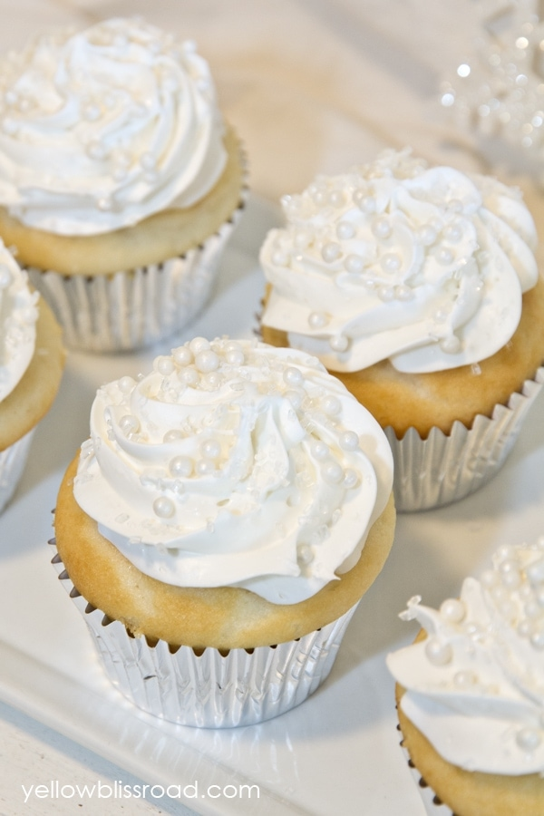 Snow Capped Cupcakes