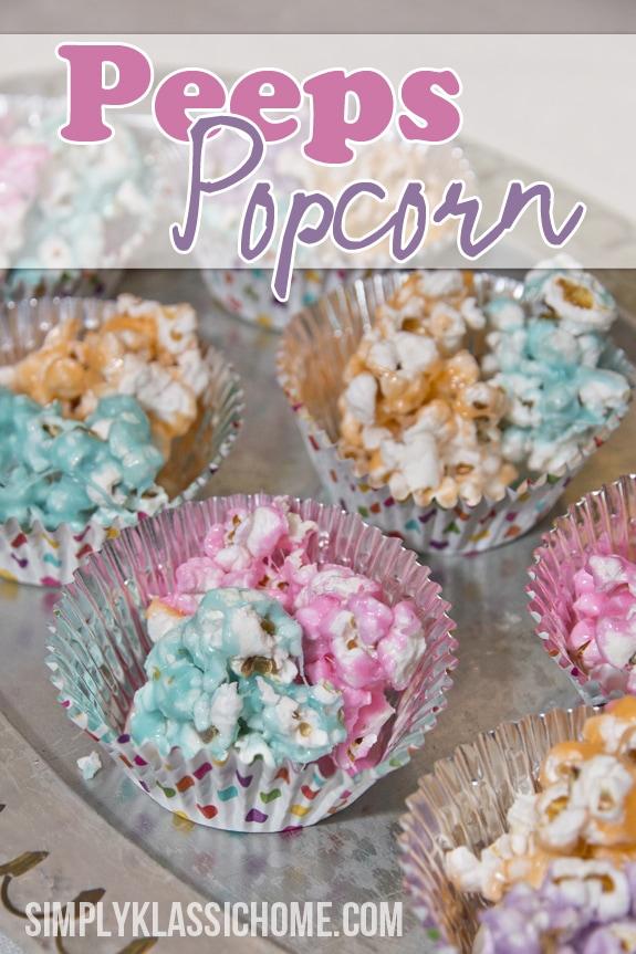 Social media image of Peeps Popcorn