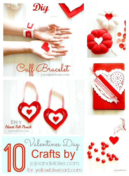 10 Valentines Day Crafts