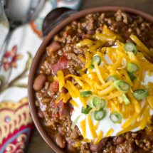 Easy Chili Recipe {3 Ingredients}