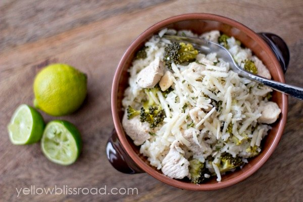 Garlic and Lime Chicken Broccoli and Rice2